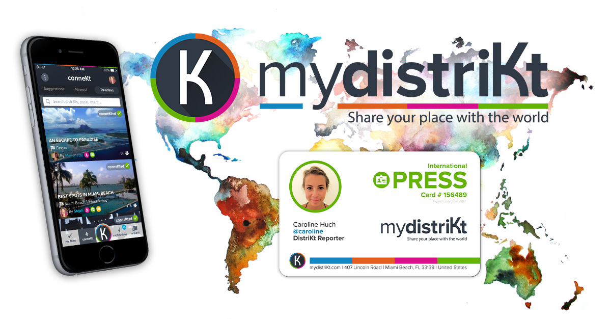 How to obtain your International Press Card with mydistriKt?