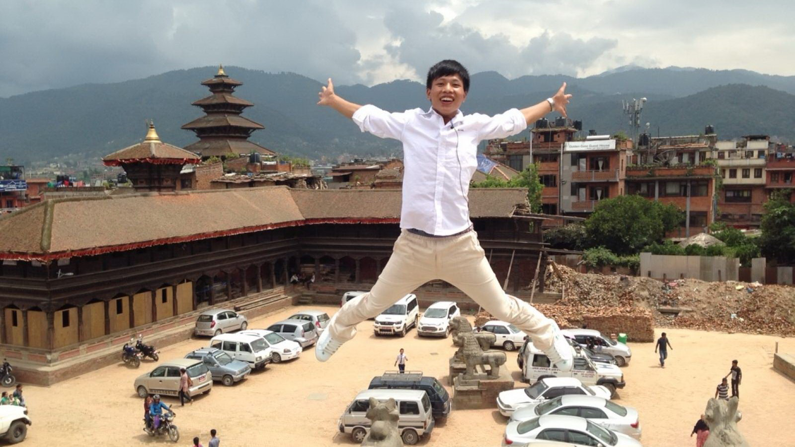 An ancient city survives, Bhaktapur, Nepal