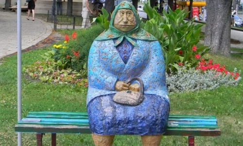 Kiev, Ukraine, a city where art tells the history