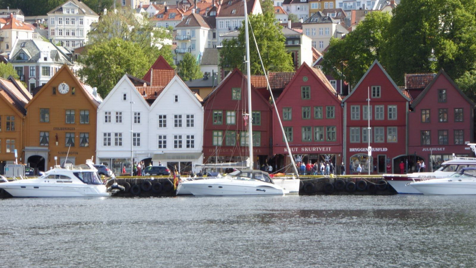 Bergen, Norway, once home to the Vikings of Scandinavia